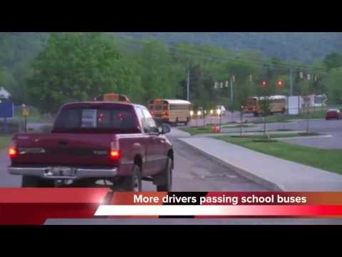 Chattanooga drivers regularly ignore law, pass school buses
