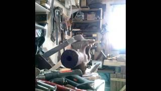 нож из ленточной пилы по дереву(в этом видео вы увидите нож сделанный из пильной ленты по дереву накладной монтаж с методом склеивания..., 2015-03-22T15:24:09.000Z)