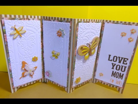 Screen Divider Card with Cricut Explore and Free File Share