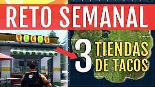 MEJOR RUTA 3 TIENDAS DE TACOS EN UNA PARTIDA | FORTNITE BATTLE ROYALE