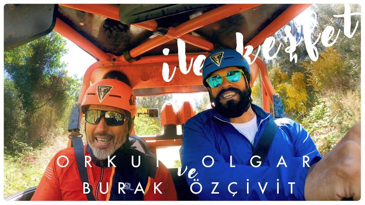 Burak Özçivit İle Ormanda Çok Eğlenceli Off-Road Macerası