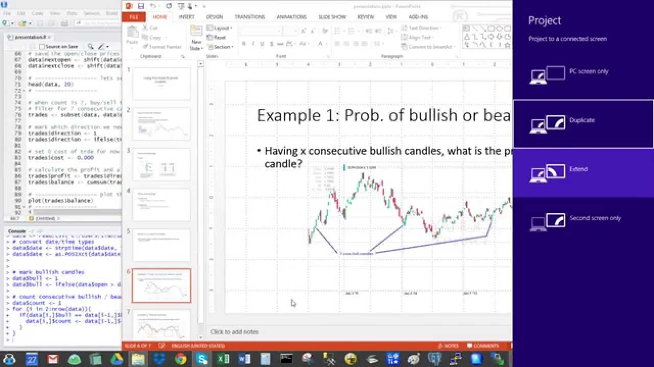 Using R In Real Time Financial Market Trading Youtube