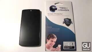 [Review] Tech Armor Anti-Glare & Anti-Fingerprint Screen Protector for Nexus 5