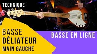 Technique Basse - Main Gauche - Déliateur BD#1