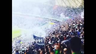 Alanyaspor-Adanademirspor Ads tribünleri Gol Sevinci