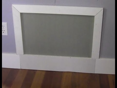 Ricksdiy Making A Simple Drywall Access Panel Wmv Youtube