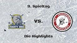 "ERV Schweinfurt ""Mighty Dogs"" vs. TSV Peißenberg ""Eishackler"" | Die Highlights"