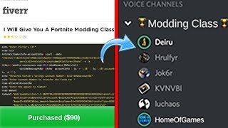 "i paid for a ""Fortnite Modding Class"" & this is what I learned.."