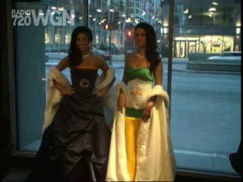 Bears and packers wedding gowns youtube for Green bay packers wedding dress
