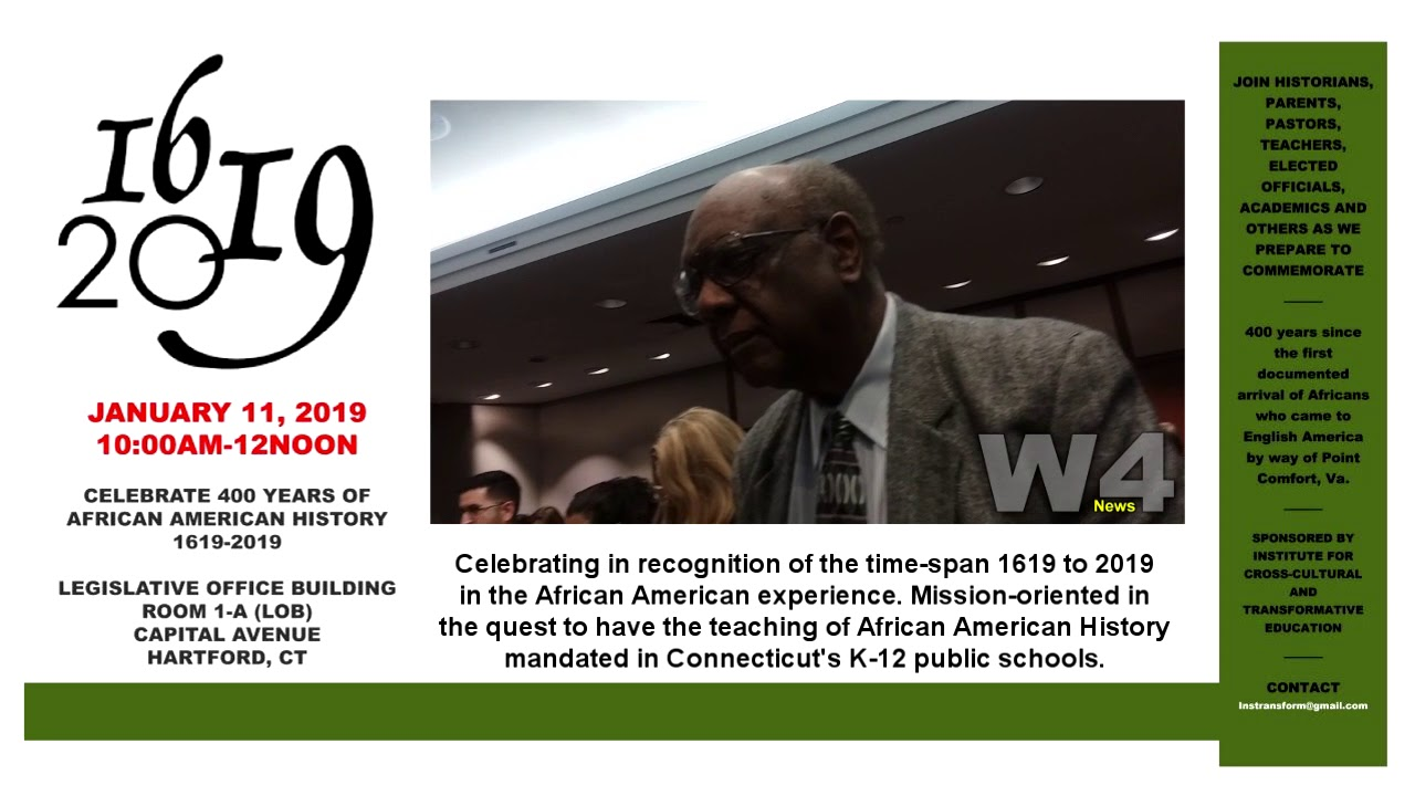 W4 News - African American Studies Panel Discussion - 1/11/2019