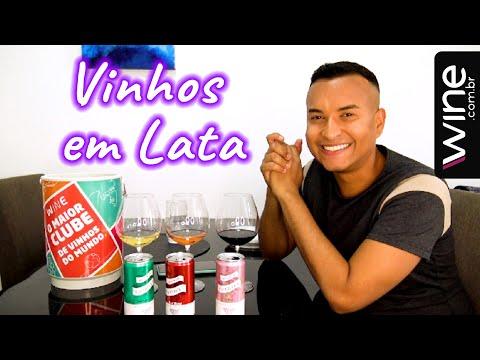 It's WINE O'CLOCK - Vinhos em LATA da Wine.com.br