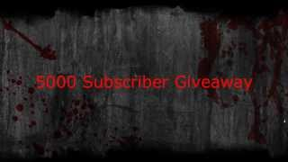 5000 Subscriber Giveaway (ENDED)