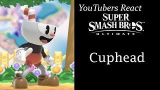 YouTubers React To: Cuphead Mii Costume (Super Smash Bros. Ultimate)