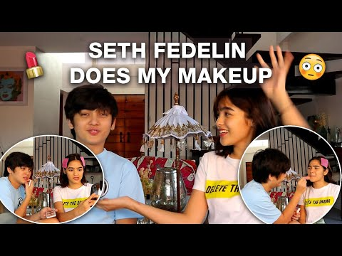 SETH FEDELIN DOES MY MAKEUP || HAPPY VALENTINES DAY :)