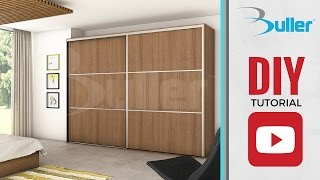 Tracks, wheels and door profiles for creating sliding wardrobe doors. This system is easy to install and offers unbeatable quality.