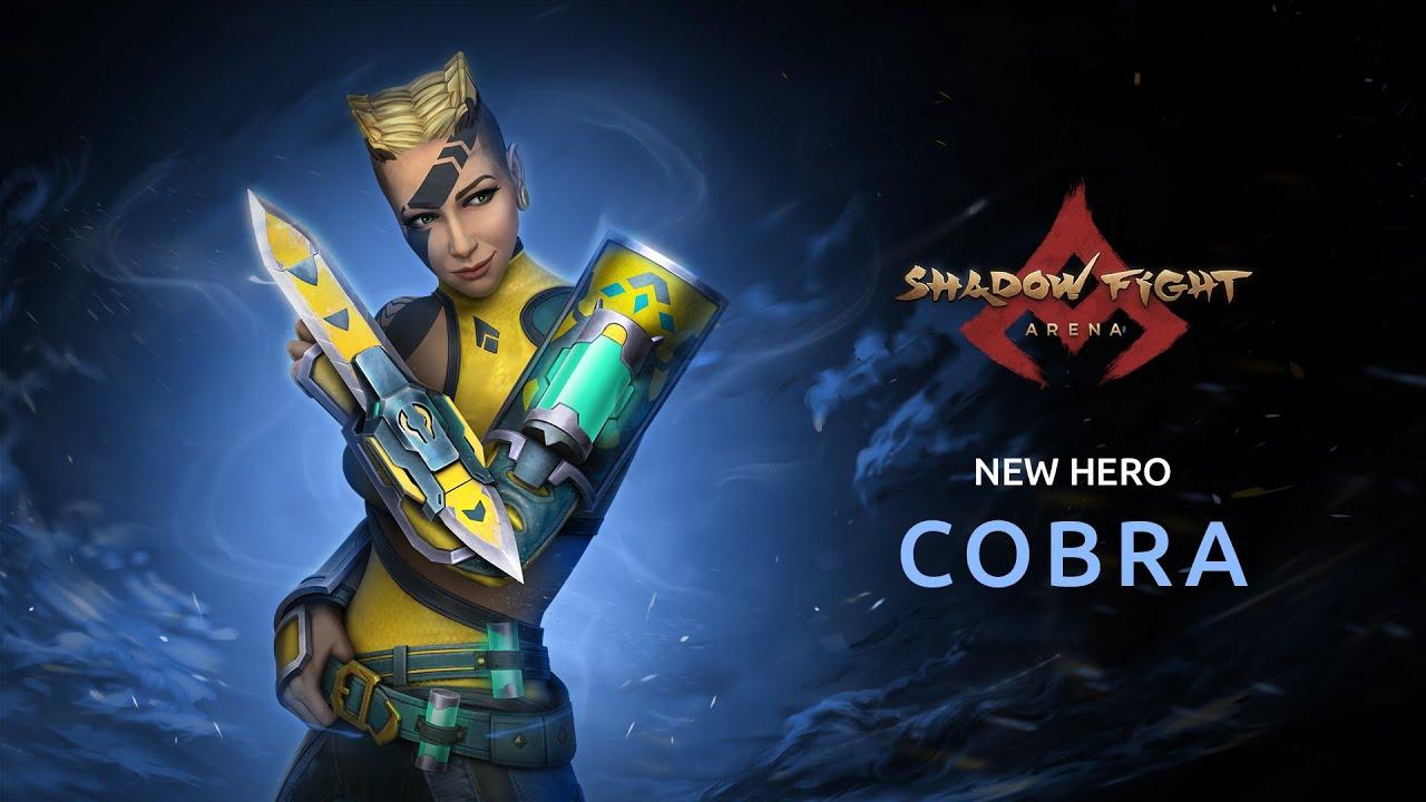 Shadow Fight Arena: Cobra Trailer