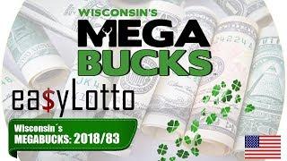 Wisconsin MEGABUCKS numbers Oct 17 2018