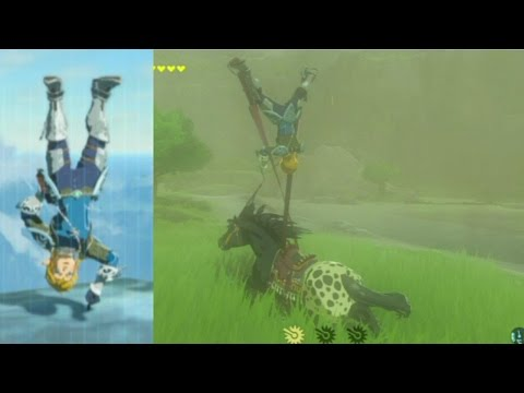 Breath of the Wild HACKS: Upside-Down Link