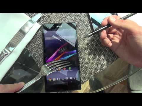 Взгляд на гигантский Sony Xperia Z Ultra и стильные часики Smartwatch 2