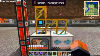 Ftb Unleashed S01e17 - Logistics Pipes Farm Automation