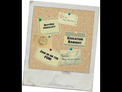 Youth Committee Hangout: Family Vacations And Genealogy