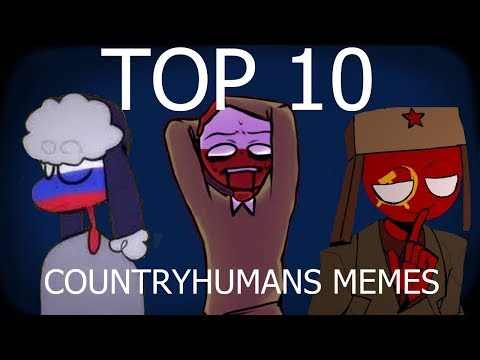 TOP 10 CountryHumans Memes #1