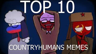 TOP 10 CountryHumans Memes #1 mp3