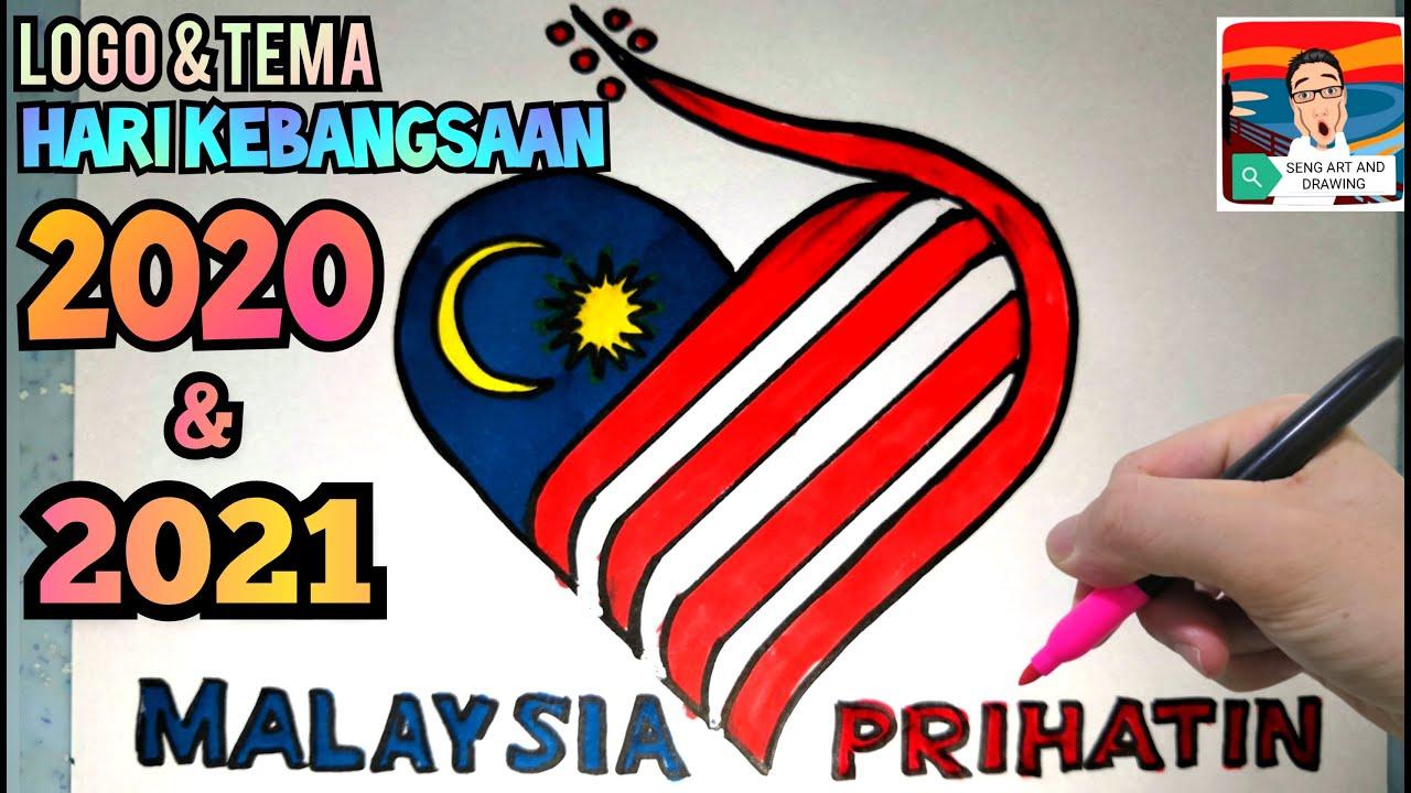 2020年国庆日主题 Logo Tema Hari Kebangsaan 2020 Malaysia Prihatin Youtube