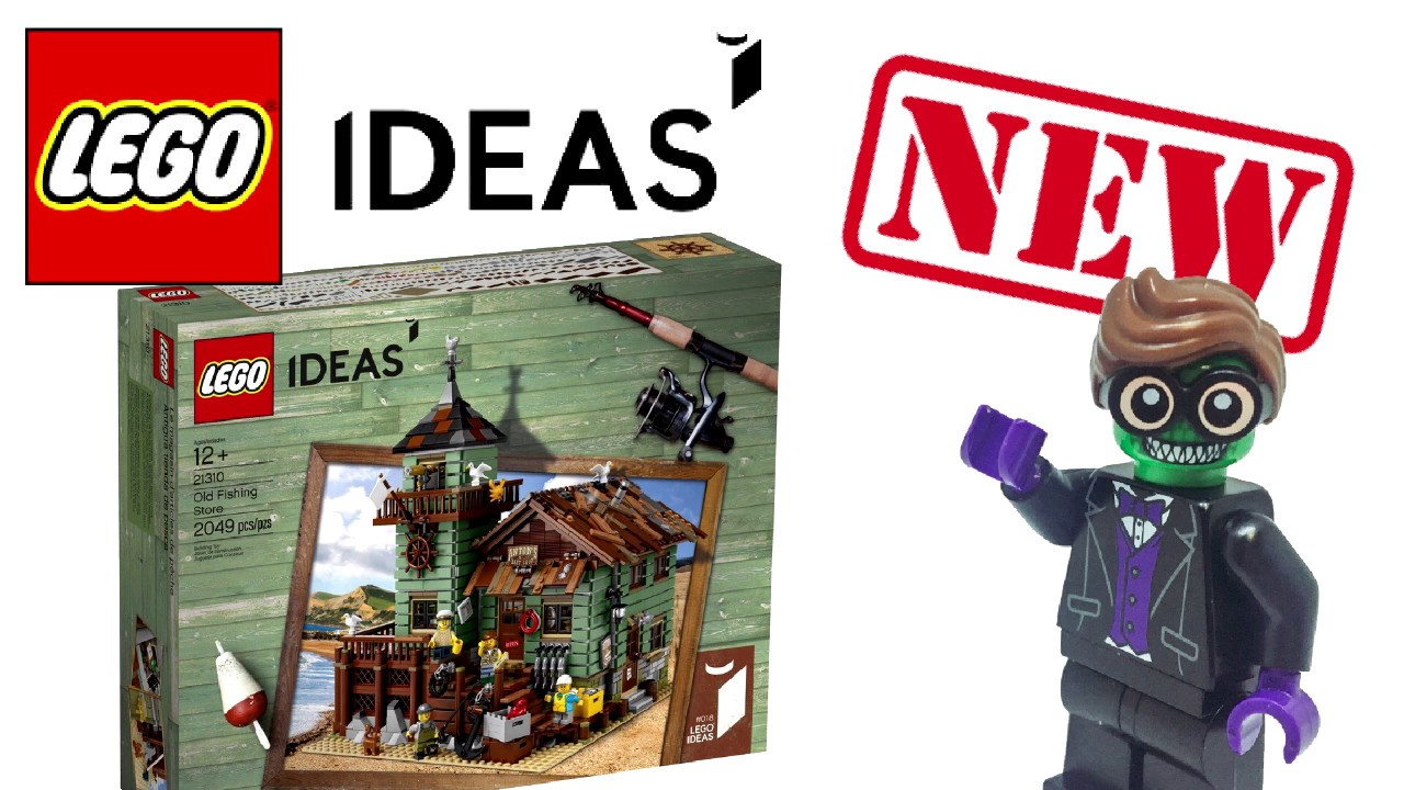 New lego ideas old fishing store set pictures revealed for Lego old fishing store