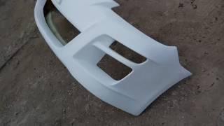 Видеообзор - Первая копия бампера Autoexe с новой матрицы на Mazda 3 bk хэтч....