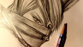 ASMR | Pencil Drawing 21 | Taka (Request)