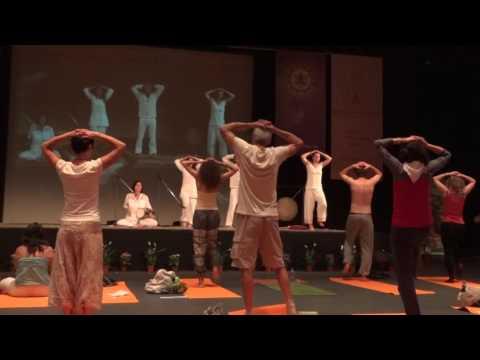 Международен Ден на Йога: НДК 21.06.2016- Кундалини Йога! Практика /част 1/