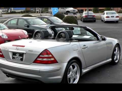 2002 Mercedes Benz Slk230 Kompressor For Sale In Marietta Ga
