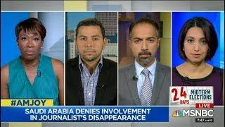 Nayyera on #Trump Response to Disappearance of Jamal #Khashoggi