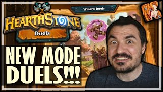 DUELS = NEW GAME MODE!!! - Hearthstone Duels