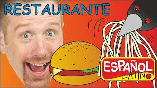 El Restaurante de Steve | Vocabulario de los Alimentos y Comidas en Español Latino