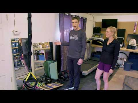 Julie and Lowell Taylor: Accessible Home Gym