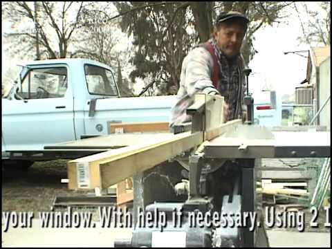 видео: Окно можно заменить и так.