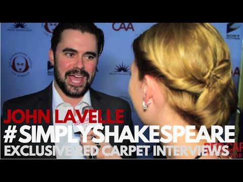 John Lavelle interviewed at the 26th Annual Simply Shakespeare Benefit #simplyshakespeare