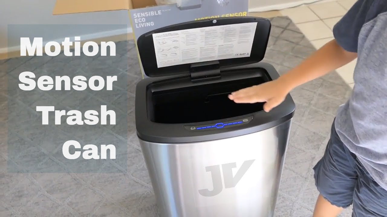 Automatic Trash Can Motion Sensor