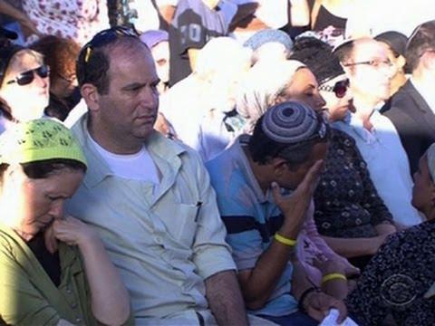 Israel buries teens, launches airstrikes against Hamas