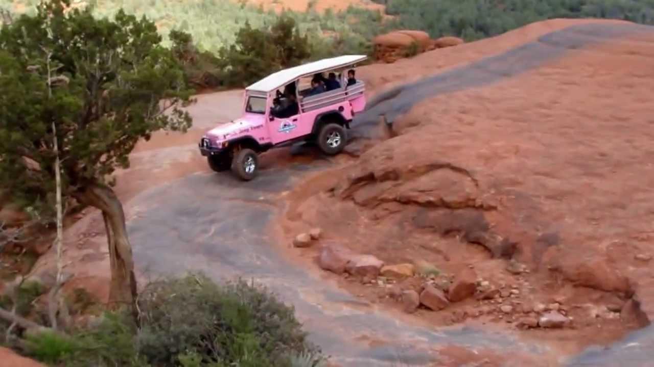 Sedona Arizona Pink Jeep Tour   YouTube