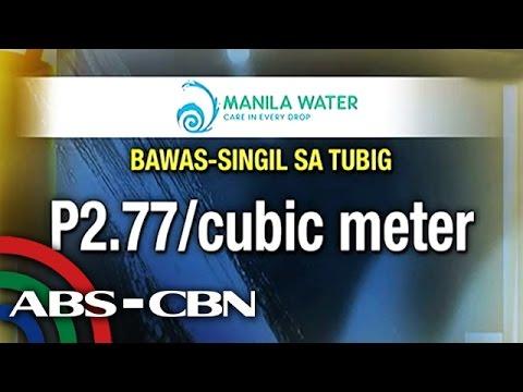 MWSS wants lower Manila Water rate