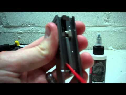 Proper Lube Points for KAHR CM9 PM9 pistol