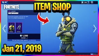 *NEW* MOTHMANDO SKIN RETURNS IN FORTNITE! | FORTNITE ITEM SHOP! (Jan 21, 2019)