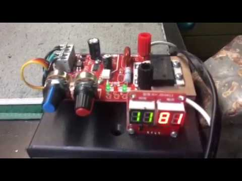$15 Battery Tab Spot Welder Control Circuit - YouTube
