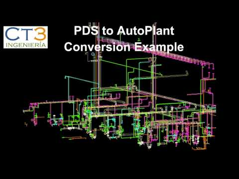 Plant 3D CONVERSION SOFTWARE. PDS-SP3D-SmartPlant3D-PDMS-Aut