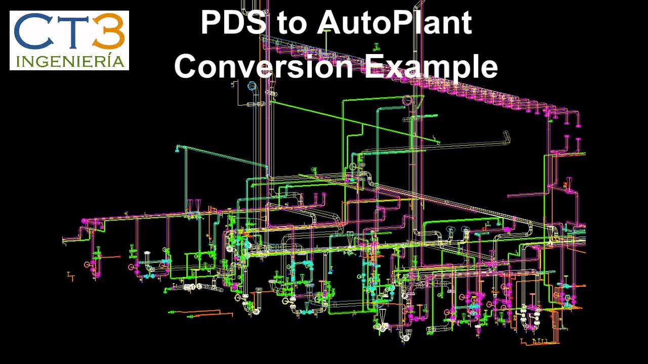 plant 3d conversion software pds sp3d smartplant3d pdms autoplant openplant autocad youtube