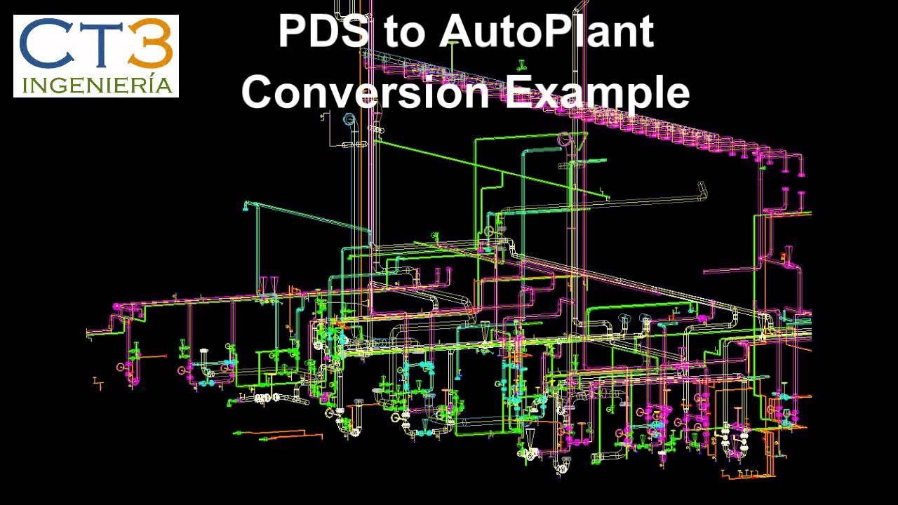 plant 3d conversion software pds sp3d smartplant3d pdms autoplant openplant autocad youtube - Autoplant 3d