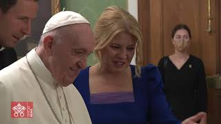 15 09 2021 P๐pe Francis Apostolic journey in Hungary and Slovakia Exclusive Images Vatican Media